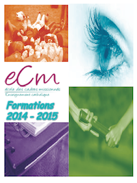 Image de la Couverture du catalogue des formations 2014-2015 de l'ECM.